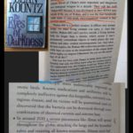 Pages from two books